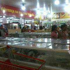 Photo taken at Bom Dia Supermercado by Cícero E. on 9/13/2012