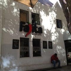 Photo taken at Fajita Express by Macarena D. on 4/19/2012