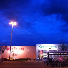 Photo taken at Auchan Pilis by Robert C. on 4/20/2012