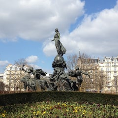 Photo taken at Place de la Nation by Cristifrimi on 3/19/2012