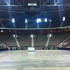 Photo taken at Jacksonville Veterans Memorial Arena by Sarah H. on 11/18/2011