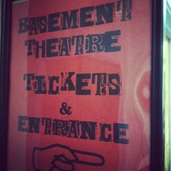 Photo taken at The Basement Theatre by John R. on 12/4/2011