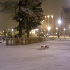 Photo taken at Parcul Centrul Civic by Valentin M. on 12/20/2011