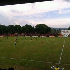 Photo taken at Stadion Bhumi Phala Temanggung by Anwarudin P. on 4/2/2012