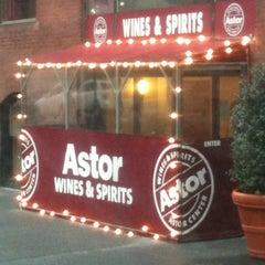 Photo taken at Astor Wines & Spirits by STEVE M. on 1/19/2011