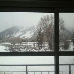Photo taken at Aspen Meadows Resort by dennis on 2/21/2012