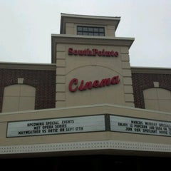 Photo taken at Marcus South Pointe Cinema by Michael S. on 9/17/2011