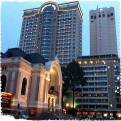 Photo taken at Caravelle Hotel by Aey on 6/18/2012