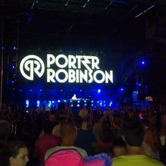 Photo taken at Tiësto College Invasion Tour @ Patriots Point by M. C. on 9/23/2011