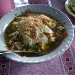 Photo taken at Kantin Belakang Menara Batavia by Anggun D. on 1/3/2012