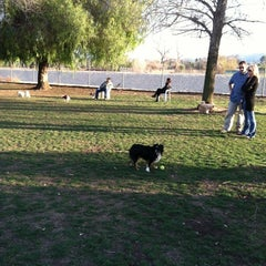 Photo taken at Sepulveda Basin Off-Leash Dog Park by Sean on 2/20/2012