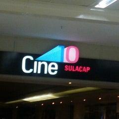 Photo taken at Cine 10 Sulacap by Julien M. on 8/31/2012