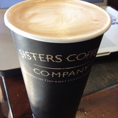 Photo taken at Sisters Coffee Company by Stephen T. on 4/27/2012