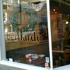 Photo taken at Café Bernardo Midtown by alison on 1/1/2012