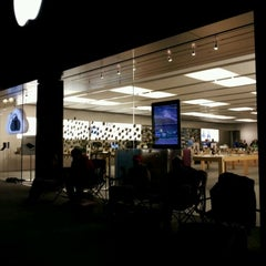 Photo taken at Apple Store, Friendly Center by Jennifer (@jruggiero) R. on 10/14/2011