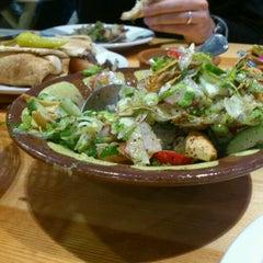 Photo taken at Yalla Yalla by mooglebug on 2/10/2012