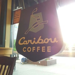 Photo taken at Caribou Coffee by John W. on 5/3/2012