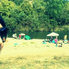 Photo taken at Froggy Beach by Violet B. on 9/24/2011