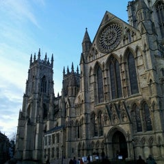 Photo taken at York Minster by Mai C. on 12/29/2011