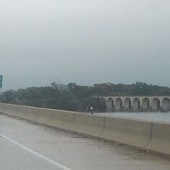 Photo taken at John Harris Bridge by Matt N. on 10/12/2011