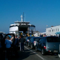 Photo taken at Steamship Authority - Woods Hole Terminal by Eric W. on 9/30/2011