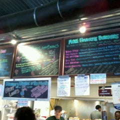 Photo taken at Twisted Root Burger Company by Mark C. on 1/15/2012