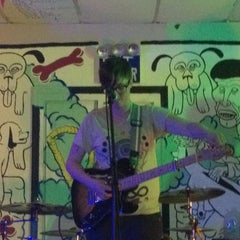Photo taken at Death By Audio by Stephanie S. on 5/28/2012