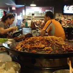 Photo taken at Honey Pig Gooldaegee Korean Grill by Desiree D. on 6/21/2012
