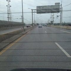 Photo taken at สะพานข้ามทางรถไฟ บ้านโป่ง by Chayin A. on 6/2/2012