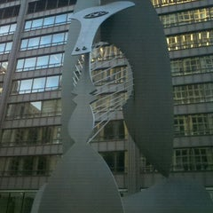 Photo taken at Daley Plaza by Lin i. on 7/24/2011