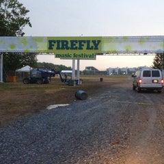 Photo taken at Firefly Music Festival by Lauren on 7/19/2012