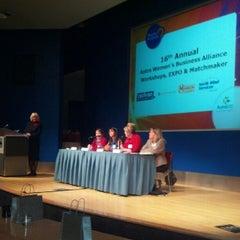 Photo taken at Bell Harbor International Conference Center by Pamela K. on 9/13/2012