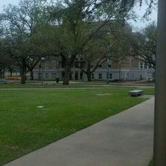 Photo taken at Military Walk by Linda C. on 3/13/2012