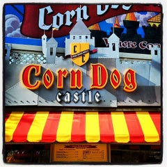 Photo taken at Corn Dog Castle by Andrew B. on 4/21/2012