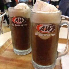 Photo taken at A&W by 🎀Gigi T. on 2/11/2012