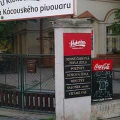 Photo taken at U Klokočníka by Viktor C. on 7/21/2012