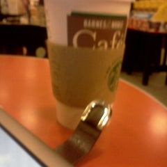 Photo taken at Barnes & Noble Café by Laura W. on 3/26/2012