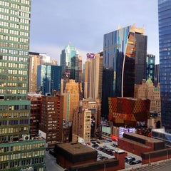 Photo taken at Fairfield Inn & Suites New York Manhattan/Times Square by Castle on 2/18/2012