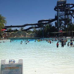 Photo taken at Six Flags Hurricane Harbor by Edo F. on 7/29/2012