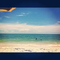 Photo taken at Bonita Beach by Christy G. on 8/5/2012
