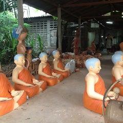 Photo taken at หมู่บ้านดินเผาด่านเกวียน by Sukhontha C. on 6/3/2012