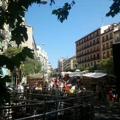Photo taken at Rastro de Madrid by Javier on 7/29/2012