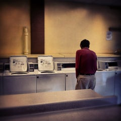 Photo taken at Nameless Laundromat by ronny k. on 5/26/2012