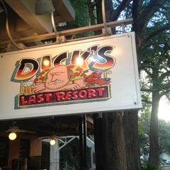 Photo taken at Dick's Last Resort by Amanda B. on 5/30/2012