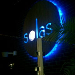 Photo taken at Solas Lounge & Rooftop Bar by Chloe P. on 7/22/2012