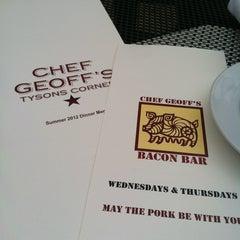 Photo taken at Chef Geoff's Tysons Corner by Jessica M. on 8/15/2012