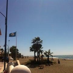 Photo taken at Paseo Marítimo de El Morche by María B. on 4/6/2012
