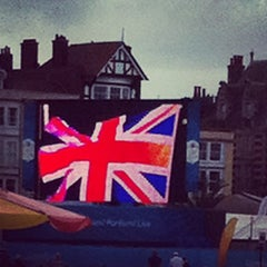 Photo taken at Weymouth Town Centre by Ksenia K. on 8/6/2012