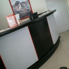 Photo taken at Banco Santander by Emmanuel V. on 6/1/2012