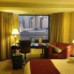 Photo taken at Parc 55 San Francisco - A Hilton Hotel by Matthew A. on 10/31/2011